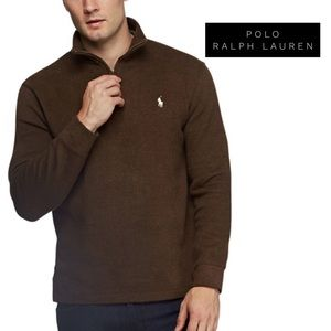French Rib Half ZIP by Polo Ralph Lauren